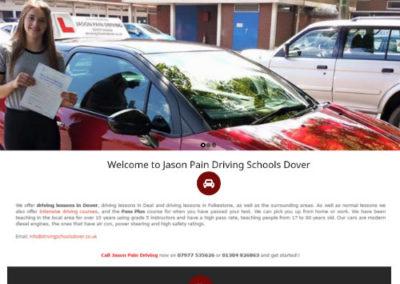 Jason Pain Driving School Dover