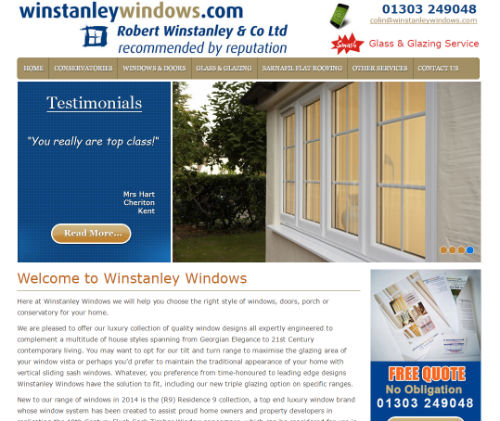 Winstanley Windows