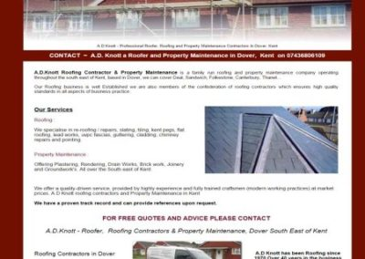 AD Knott Roofers