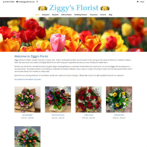 Ziggy's Florist Dover - Flower Shop